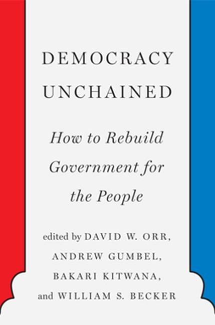 Democracy Unchained Book Cover